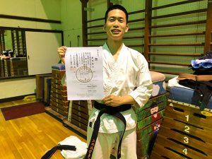 初段合格おめでとうございます!
